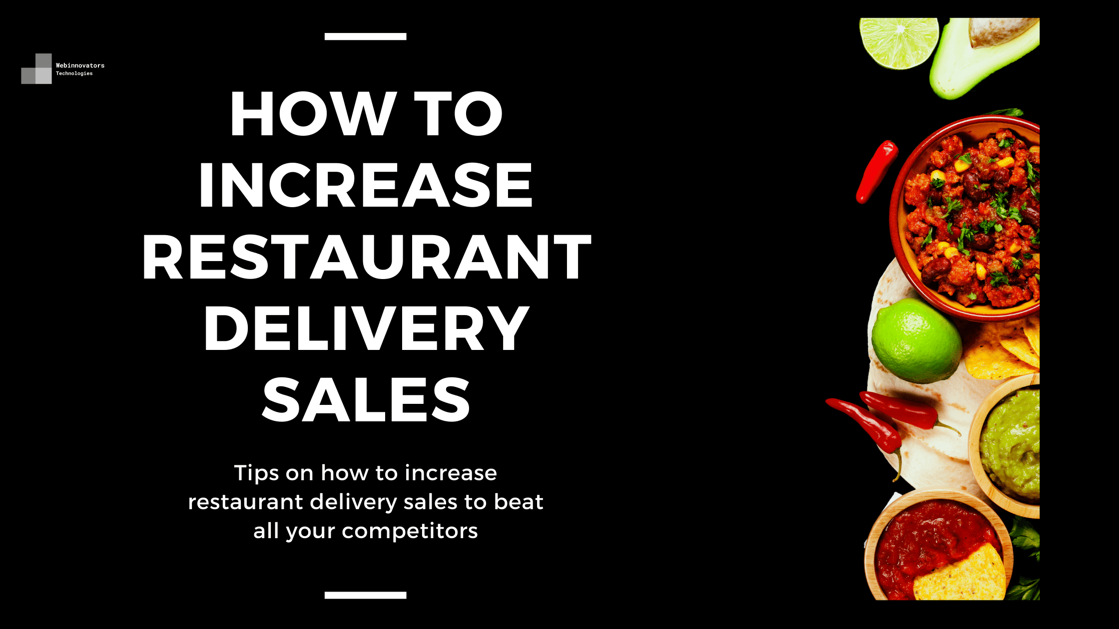 How to increase restaurant delivery sales