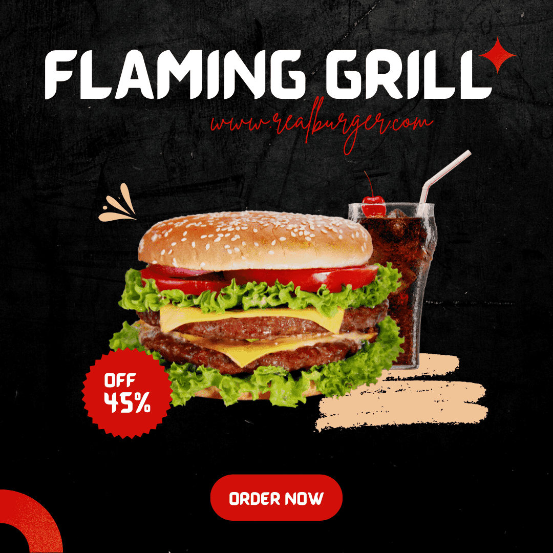 Flaming Grill<div style='clear:both;width:100%;height:0px;'></div><span class='cat'>Graphic Design</span>